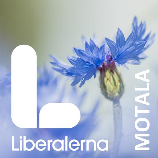 Liberalerna Motala Logotyp